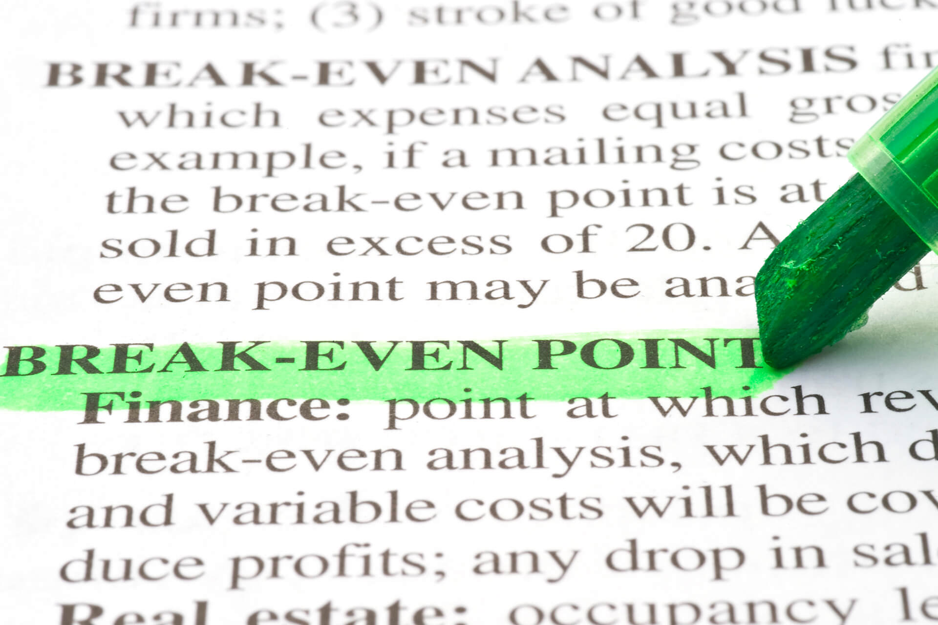 Ponto de equilíbrio: como calcular o da sua empresa