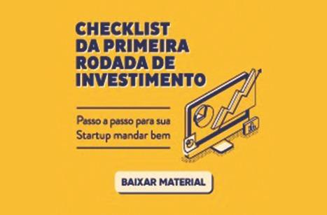 Checklist da primeira rodada de investimentos